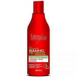 Shampoo Banho de Verniz Morango 500ml