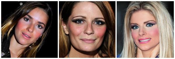 Erros comuns na maquiagem excesso de blush